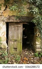 ruined village in slovenia