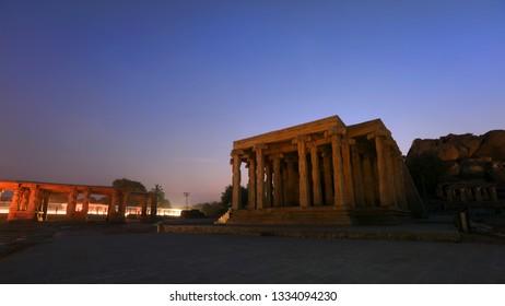 Ruines of Hampi in Karanataka state India