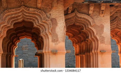 Ruines of Hampi in Karnataks state India