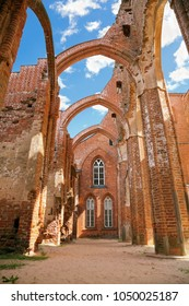 Ruines of the Tartu cathedral