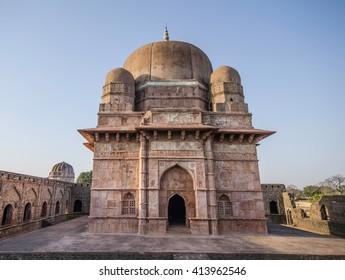 Ruins of Afghan architecture in Mandu, India