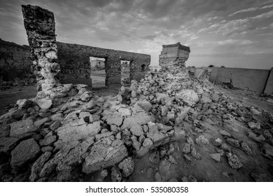 The Ruins of Al Jazeera Al Hamra in Ras Al Khaima - United Arab Emirates