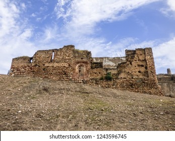 Ruins of the Alcazaba de Badajoz - Moorish citadel from the 9th century - Badajoz, Spain