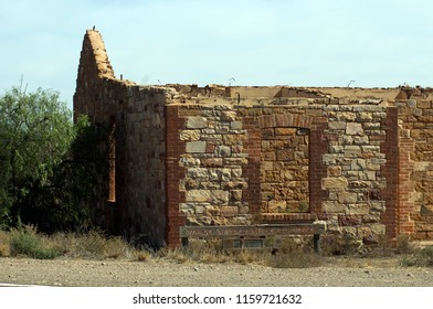 Ruins along drive between Quorn and Hawker, Flinders' Ranges, South Australia