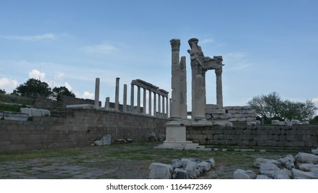 Ruins of the ancien city of Pergamon