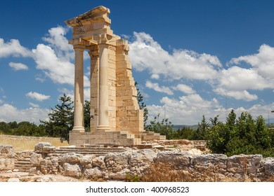 Ruins of the ancient Apollo Hylates sanctuary and temple, Cyprus