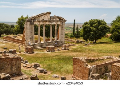 Ruins of the ancient Apollonia town, Albania