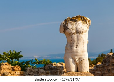 Ruins of the ancient Carthage city, Tunisia