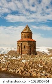 Ruins of ancient city Ani, Kars, Turkey