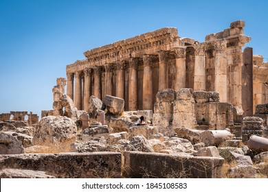 The ruins of the ancient city of Baalbek in Beirut - Lebanon