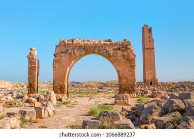 Ruins of the ancient city of Harran - Urfa , Turkey (Mesopotamia)