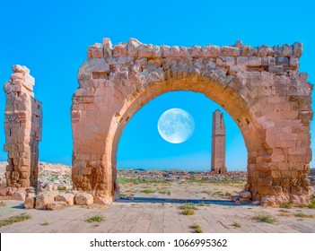 "Ruins of the ancient city of Harran - Urfa , Turkey (Mesopotamia) - Old astronomy tower ""Elements of this image furnished by NASA """
