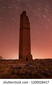 Ruins of the ancient city of Harran - Urfa , Turkey (Mesopotamia) - Old astronomy tower with lot of stras