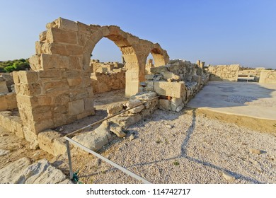 Ruins of the ancient city of Kourion near Limassol, Cyprus