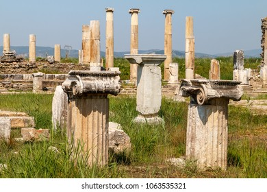 Ruins of the ancient city Magnesia (Magnesia on the Maeander), Turkey