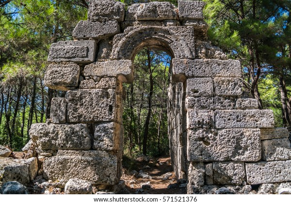 ruins-ancient-city-phaselis-turkey-600w-