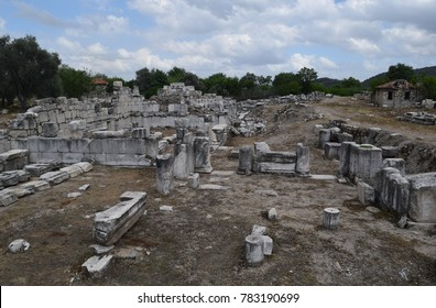 The ruins of the ancient city  Stratonikeia