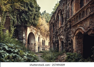The ruins of an ancient fort
