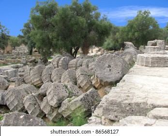 Ruins - Ancient Olympia, Greece