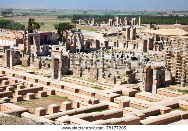 Ruins Ancient Persepolis Iran Stock Photo Edit Now 78177205
