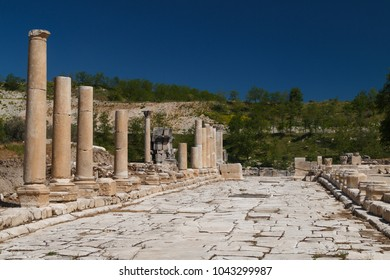 Ruins of the ancient Stratonicea town, Turkey