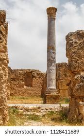 Ruins of the ancient Thuburbo Majus town, Tunisia
