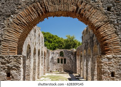 Ruins of the ancient town Butrint (Buthrotum), Albania
