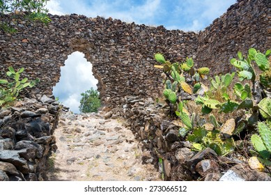 Ruins of the ancient Wari civilization near Ayacucho, Peru