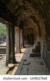 Ruins of the Angkor Wat temple