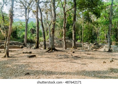 Ruins at the archaeological site Copan, Honduras