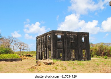 Ruins of Aslito Airfield, Saipan, Northern Mariana Islands Aslito Airfield or Isely Field, a National Historic Landmark district built by the Japanese is now the site of Saipan Airport.