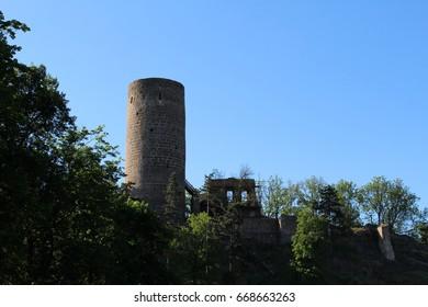 Ruins of the Žebrak castle