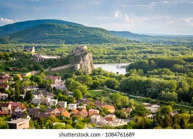 Ruins of castle Devin near Bratislava, Slovakia