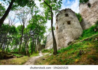 Ruins of castle Dobra Voda - Slovakia - Shutterstock ID 1962631525
