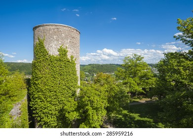Ruins of the castle Hohennagold in Nagold, Black Forest, Baden-Wurttemberg, Germany, Europe