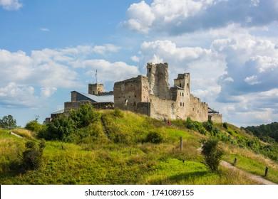 Ruins of a castle in Rakvere, Estonia