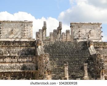 Ruins at Chichen Itza Mexico