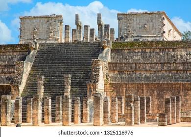 Ruins of the Chichen-Itza, Yucatan, Mexico