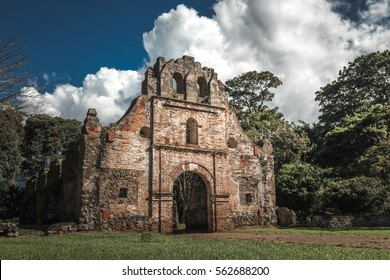 Ruins of Ujarrás Church in Costa Rica