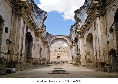 ruins of the convent of Santa Clara in Antigua, Guatemala