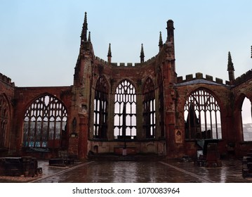 Ruins of Coventry Cathedral, UK