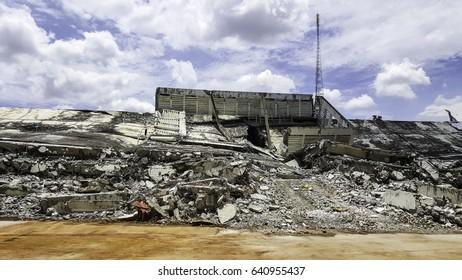 Ruins dilapidated