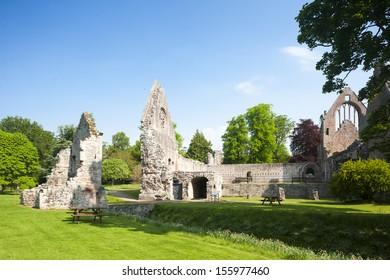 ruins of Dryburgh Abbey, Scottish Borders, Scotland