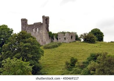 Ruins of Dunmoe Castle, Navan, Ireland