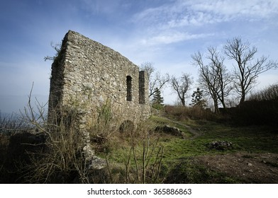Ruins of the former Ursula chapel on the M�¤gdeberg
