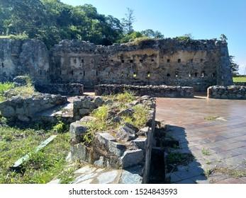 Ruins of the Fortin de la Cumbre in El Avila National Park