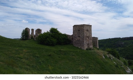 Ruins of the fortress in Borshchevsky district of Ternopil region
