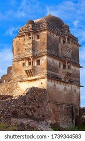 Ruins of Gora Badal Palace at Chittorgarh Fort in Chittaurgarh, Rajasthan state of India. Gora and Badal are legendary warriors, they served the king of Chittor, Ratansen.