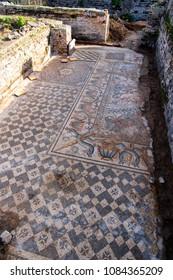 Ruins of Hippo Regius, a Phoenician, Berber and Roman city, Annaba Province, Algeria.