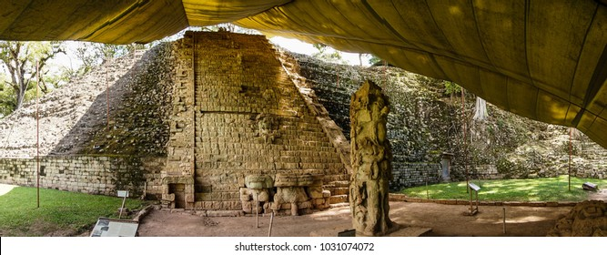 Copán ruins in Honduras.